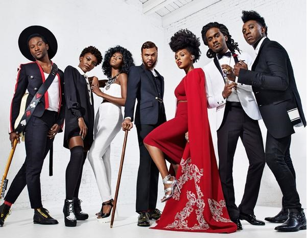 Janelle Monae and her Wondaland crew (Photo by Marc Baptiste)